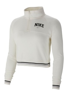 Nike Varsity Fleece Crop Pullover