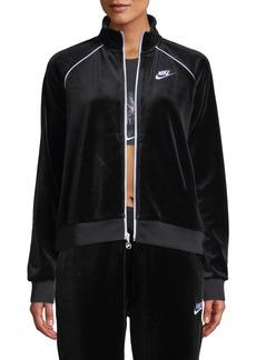 Nike Velour Track Jacket