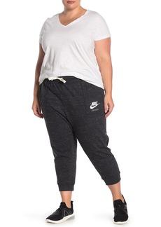 Nike Vintage Gym Drawstring Capri Pants (Plus Size)