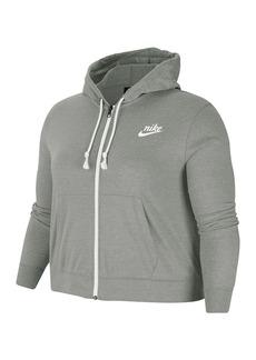 Nike Vintage Gym Zip Hoodie (Plus Size)