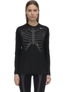Nike W Nrg Skeleton L/s Top