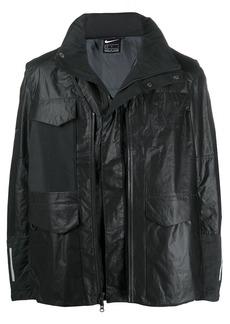 Nike waxed flap pocket jacket