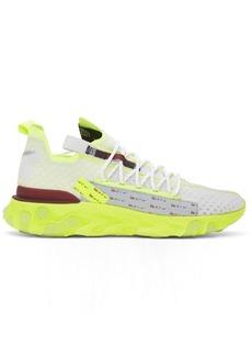 Nike White & Yellow React Ispa Sneakers