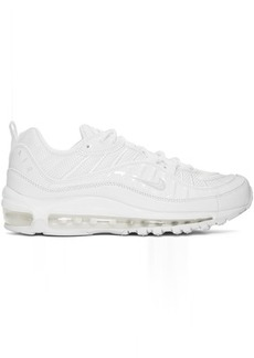Nike White Air Max 98 Sneakers