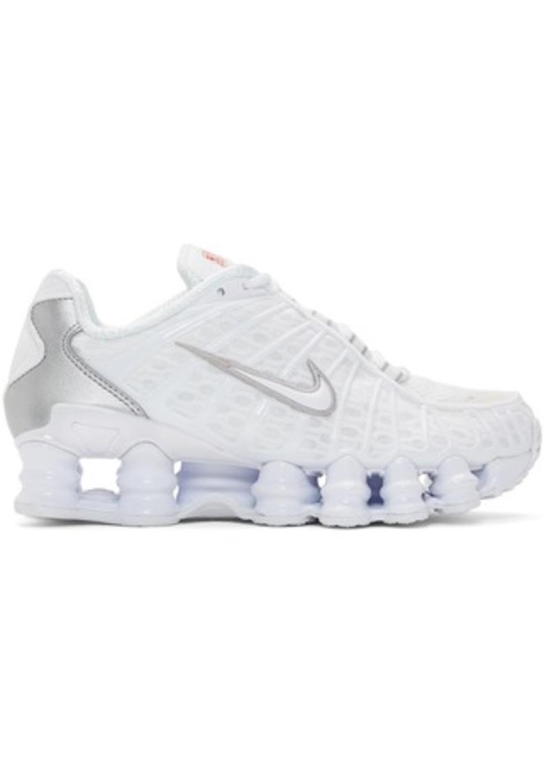 Nike White Shox TL Sneakers