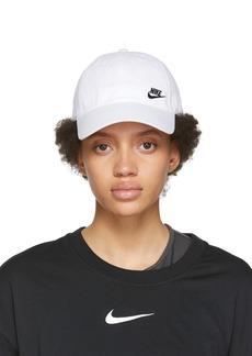 Nike White Sportswear Heritage 86 Futura Cap