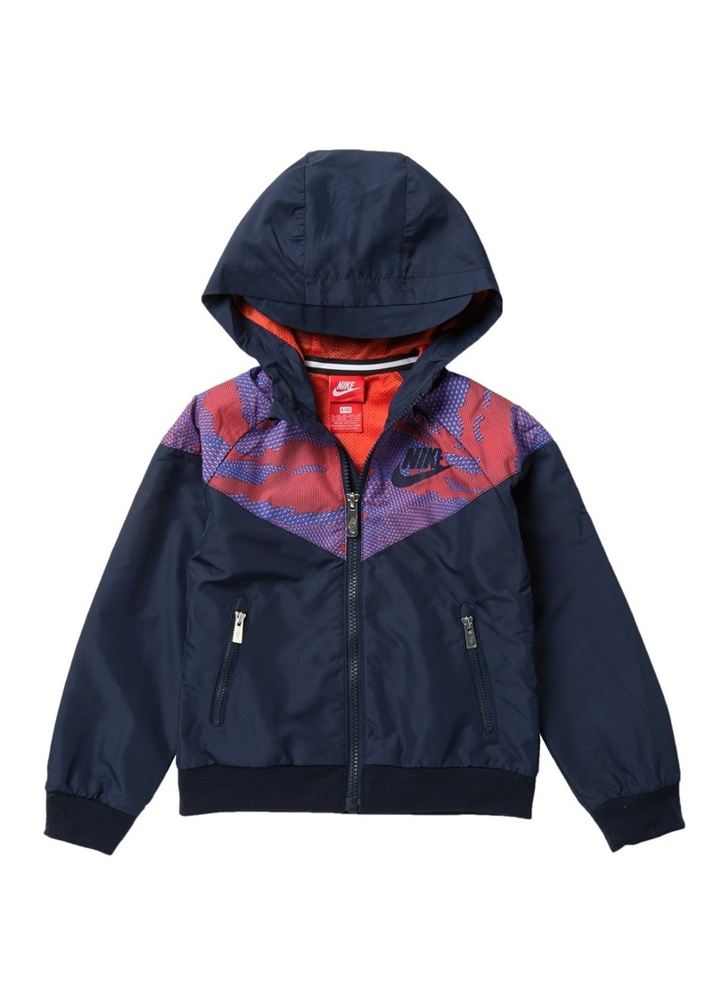Nike Wind Runner Jacket (Little Boys)