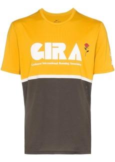 Nike x Gyakusou colour block sports T-Shirt