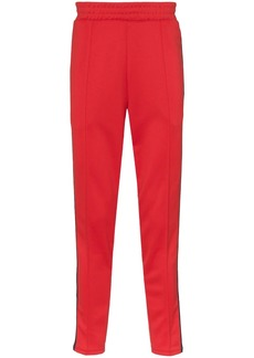 Nike X Martine Rose red and blue sweatpants