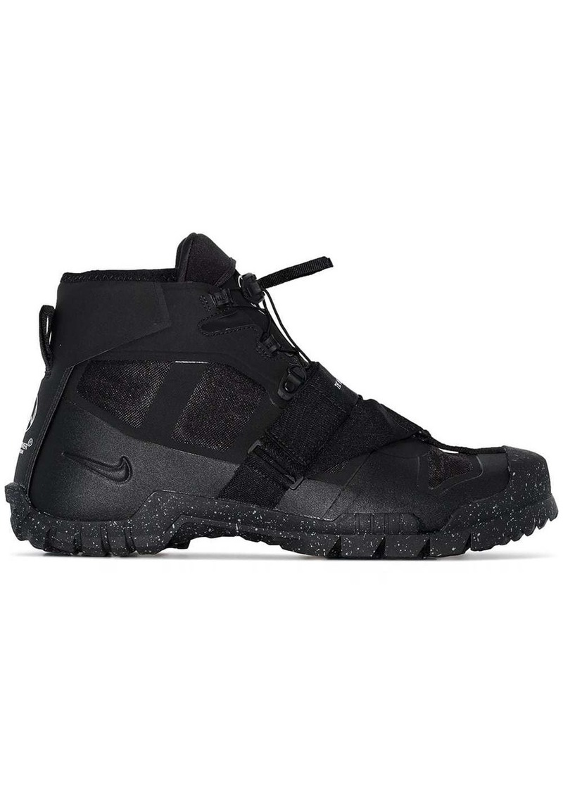 Nike X Undercover black SFB Mountain sneakers boots