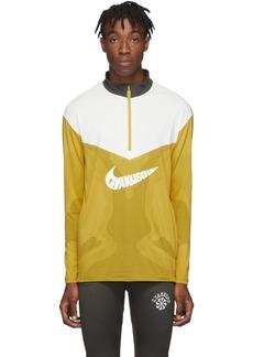 Nike Yellow & Grey Gyakusou Half-Zip Sweater