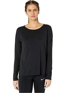 Nike Yoga Layer Long Sleeve Top