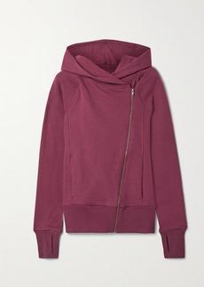 Nike Yoga Statement Cotton-blend Jersey Hoodie