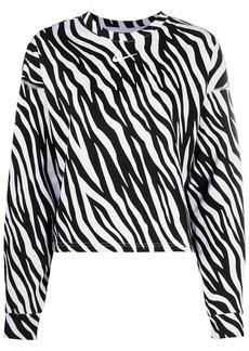 Nike zebra-print sweatshirt