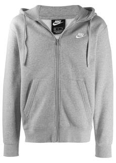 Nike zip up swoosh hoodie