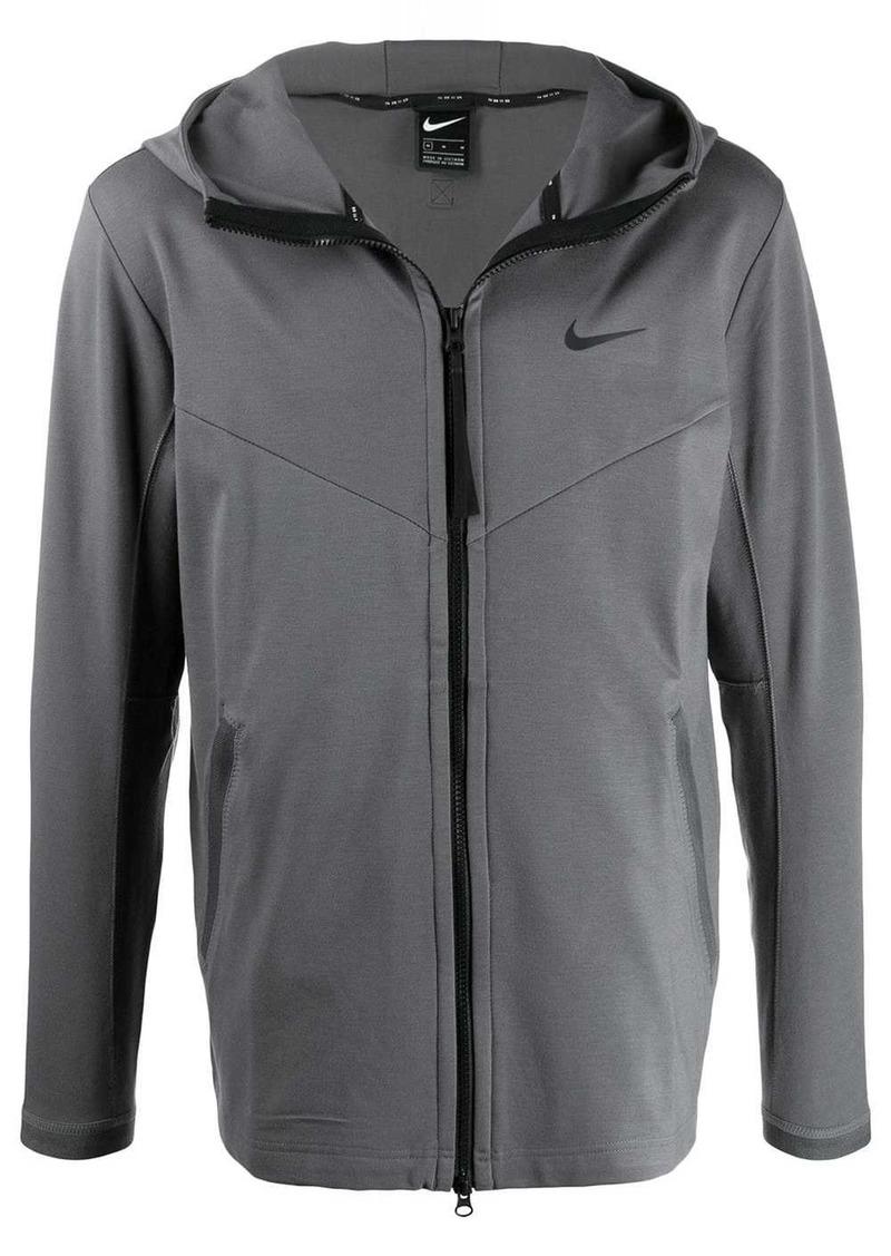 Nike zipped bomber jacket