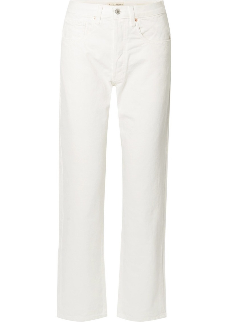 Archer High-rise Straight-leg Jeans