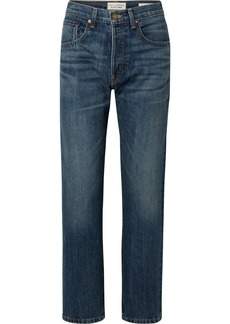 Nili Lotan Archer High-rise Straight-leg Jeans