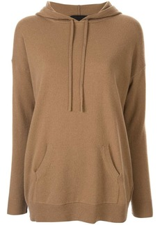 Nili Lotan cashmere relaxed-fit hoodie