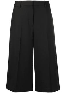 Nili Lotan cropped virgin wool-blend palazzo trousers