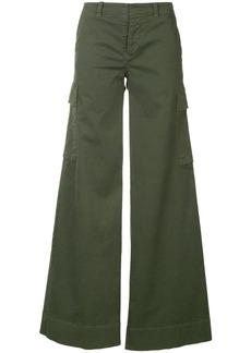Nili Lotan flared cargo trousers