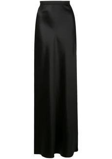 Nili Lotan long slip skirt with side slit