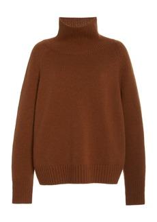 NILI LOTAN - Women's Lanie Cashmere Turtleneck Sweater - Brown - Moda Operandi