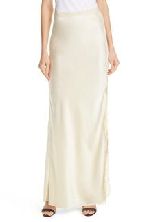 Nili Lotan Azalea Silk Evening Skirt