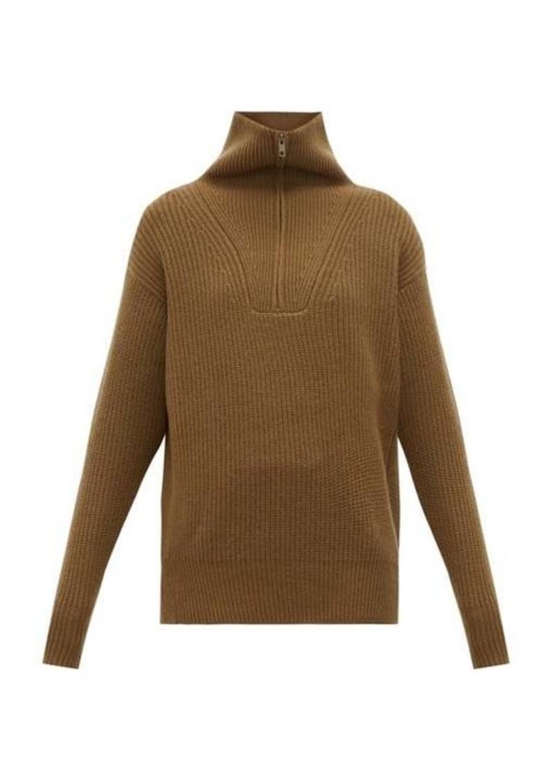 Nili Lotan Beni half-zip cashmere sweater
