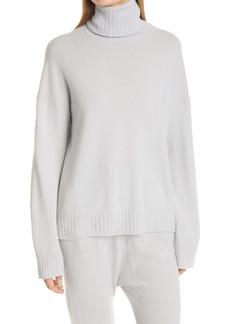 Nili Lotan Boyfriend Cashmere Turtleneck Sweater
