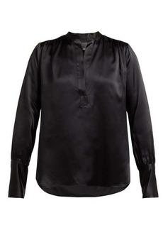 Nili Lotan Colette silk-satin blouse