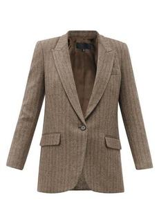 Nili Lotan Diane wool-blend single-breasted blazer