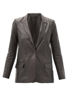 Nili Lotan Don leather blazer