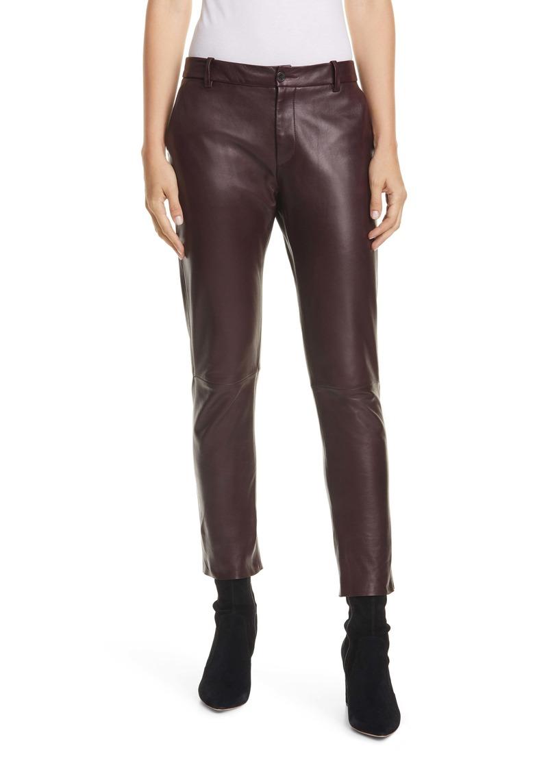 Nili Lotan East Hampton Leather Pants