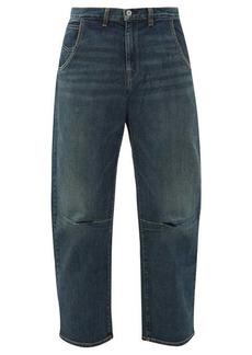Nili Lotan Emerson panelled wide-leg jeans