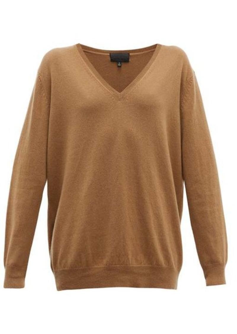 Nili Lotan Kendra V-neck cashmere sweater