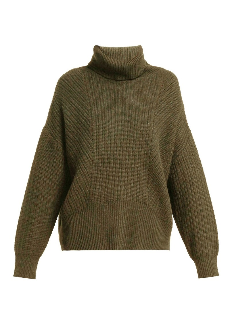 fd19f948f96 Kiernan ribbed-knit cashmere roll-neck sweater