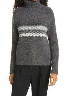 Nili Lotan Leane Alpaca Blend Turtleneck Sweater