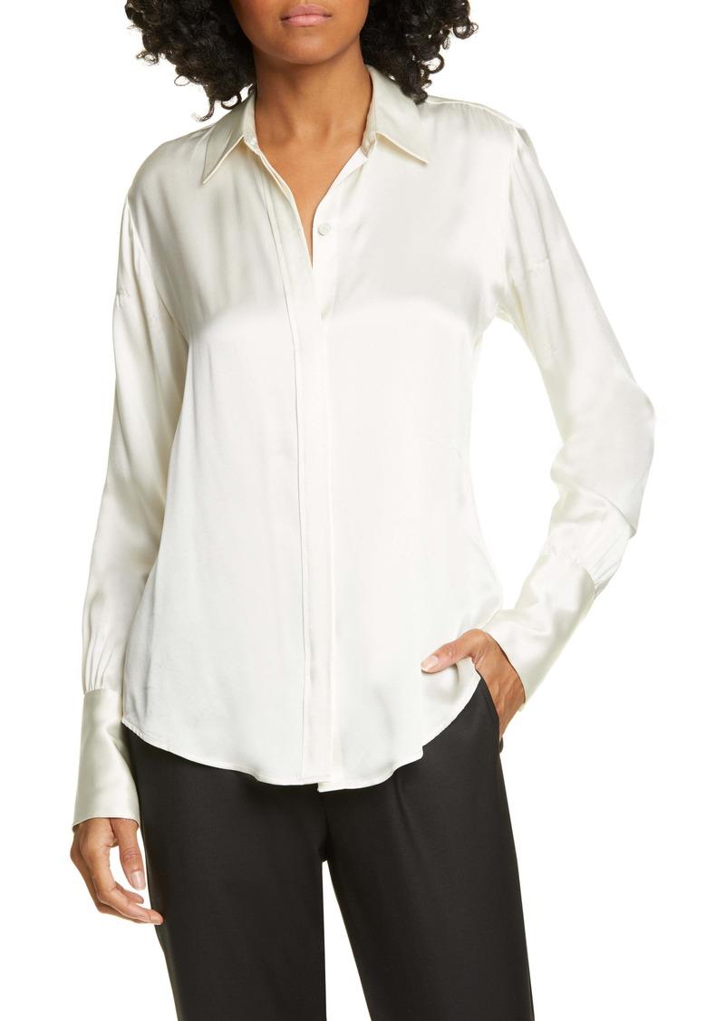 Nili Lotan Lleida Silk Shirt