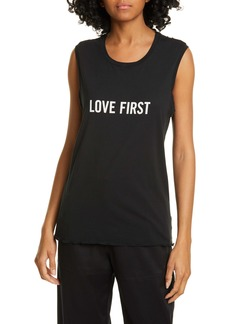 Nili Lotan Love First Muscle Tee