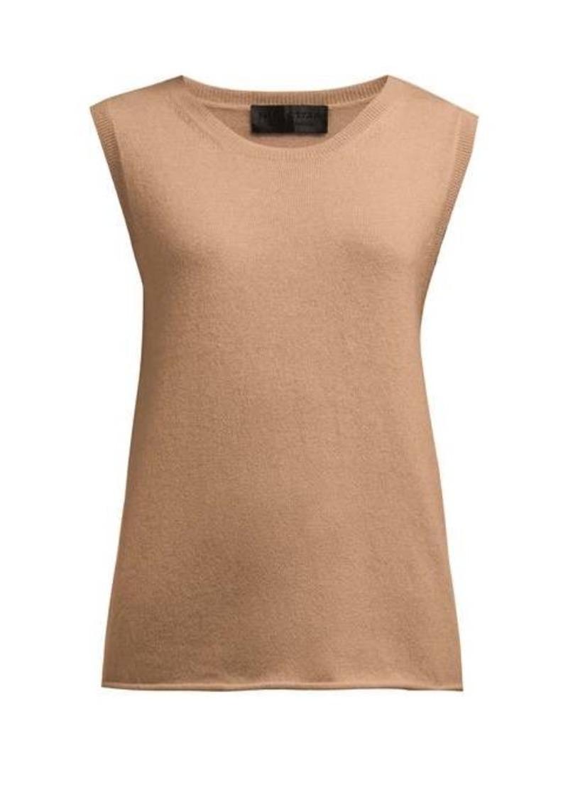 Nili Lotan Muscle cashmere tank top