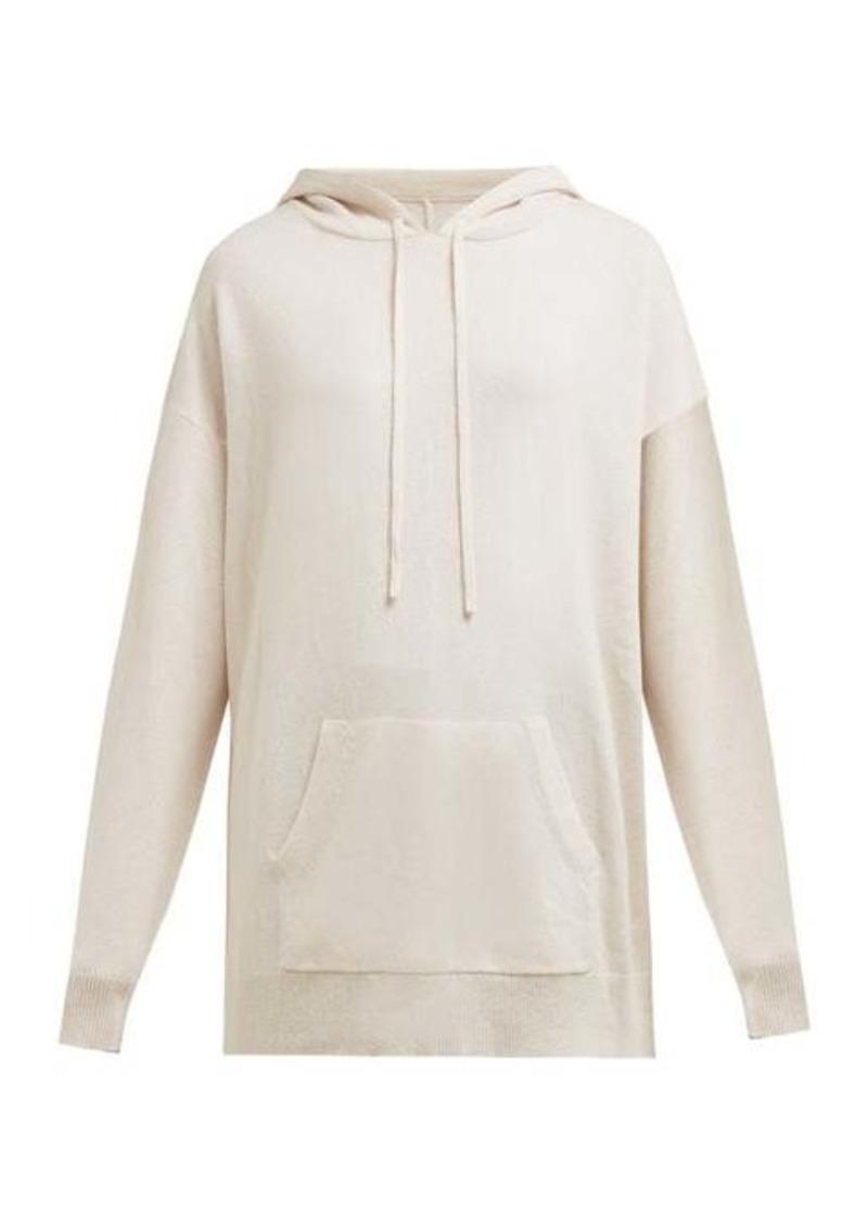 Nili Lotan Selma cashmere hooded sweatshirt