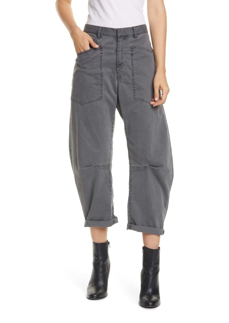 Nili Lotan Shon Stretch Cotton Pants