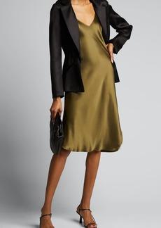 Nili Lotan Silk Satin Slip Gown
