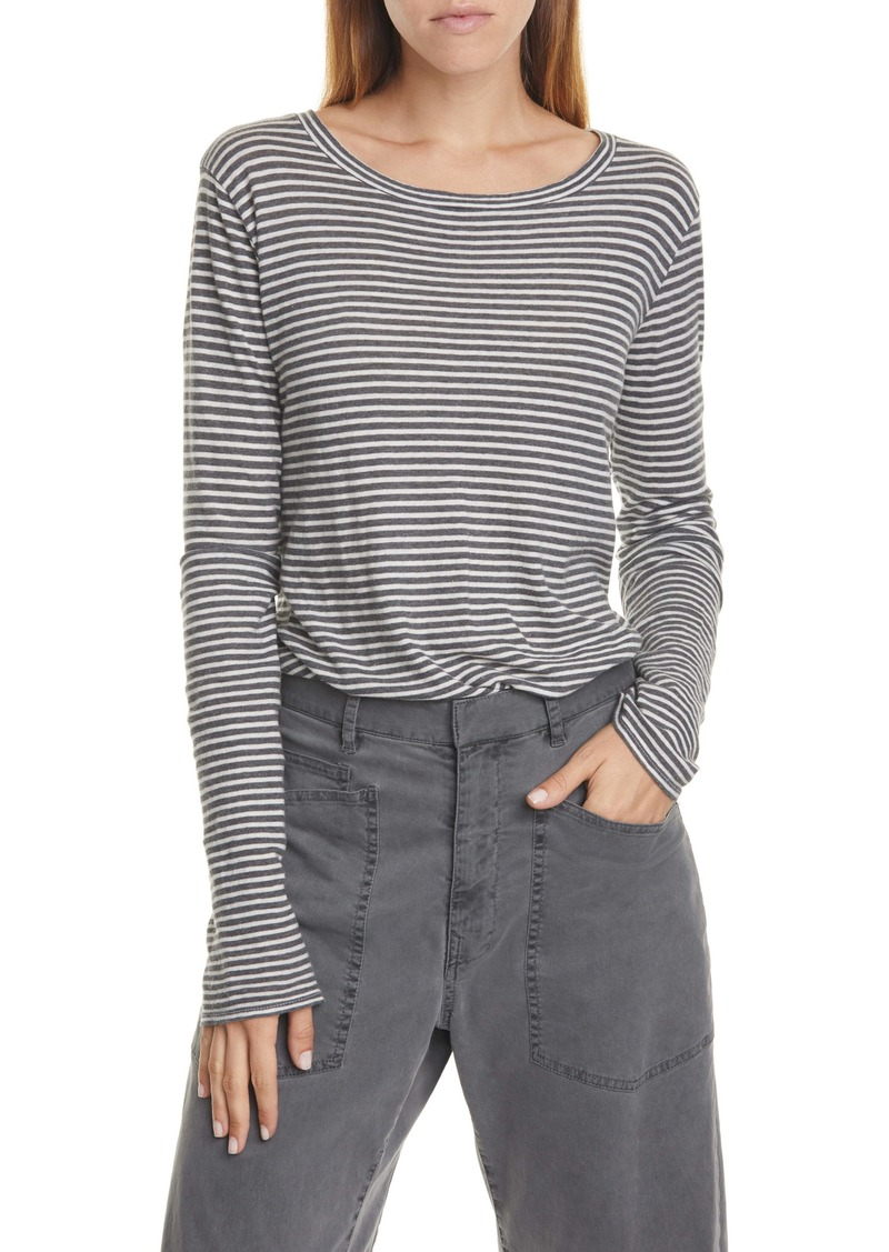 Nili Lotan Stripe Long Sleeve T-Shirt