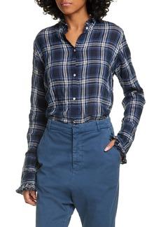 Nili Lotan Vivian Plaid Shirt