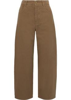 Nili Lotan Woman Sam High-rise Wide-leg Jeans Light Brown