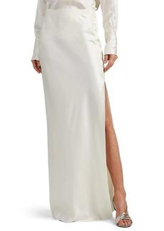 Nili Lotan Women's Azalea Silk Charmeuse Maxi Skirt
