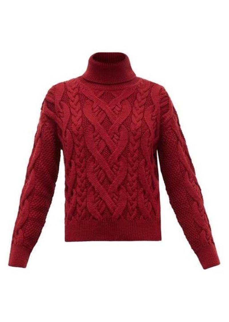 Nili Lotan Wooster roll-neck merino wool sweater