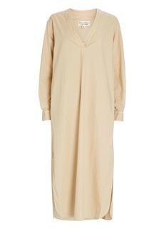 Nili Lotan Raven Cotton Poplin Midi Dress